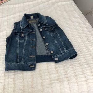 Levi's cropped jean jacket